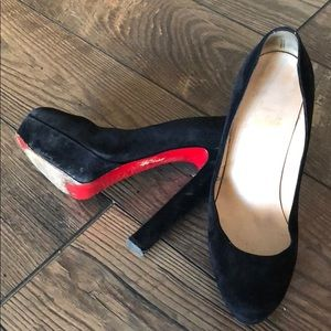 Christian Louboutin suedes